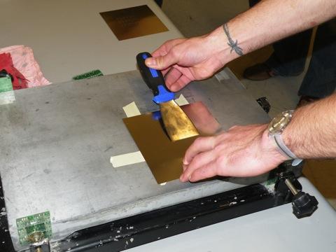 Sparkfun Electronics Solder Paste Stencil Demo