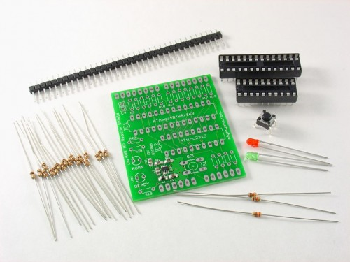 AVR HV Rescue Shield Kit Components