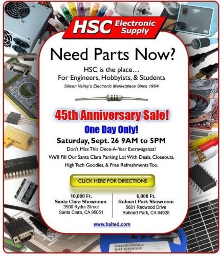 HSC 45th Anniversary Sale