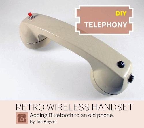 DIY Telephony: Retro Wireless Handset